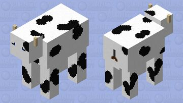 Cow realistic Minecraft Mob Skin