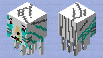 criing ghast Minecraft Mob Skin