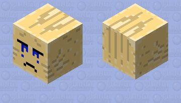 Sad ghast Minecraft Mob Skin