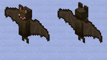 Horror Bat Minecraft Mob Skin