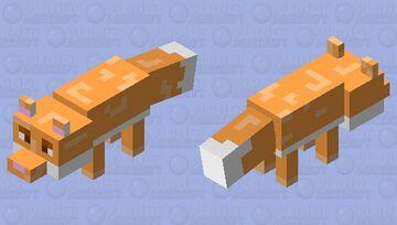 Fox Minecraft Mob Skin