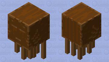 Chocolate Cake Ghast Minecraft Mob Skin