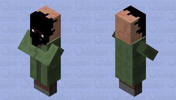 warped villager Minecraft Mob Skin