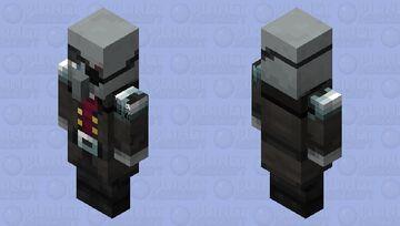 Vindicator Captain(Re Texturing) Minecraft Mob Skin