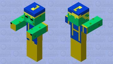 Cherif drowned Minecraft Mob Skin