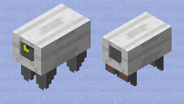 Shelgon Minecraft Mob Skin