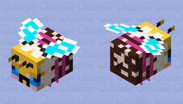 Sweeter (Official art version) - Angry with Pollen Minecraft Mob Skin