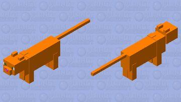 ulepszenie dla rudego kota Minecraft Mob Skin