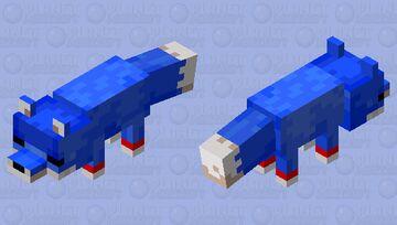 sonic sleepy Minecraft Mob Skin
