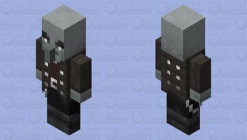 Vindicator re-texturing / level 2 / iron Minecraft Mob Skin