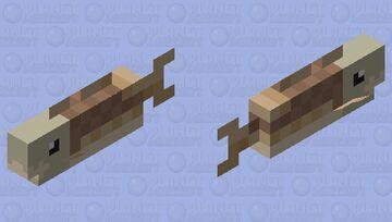Skull cod Minecraft Mob Skin