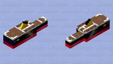 Titanic Minecraft Mob Skin