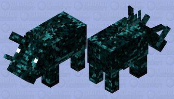 Will o' the Wisp Hoglin Minecraft Mob Skin