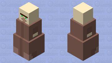 Fat Villager Minecraft Mob Skin