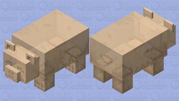 Brown gummy bear Minecraft Mob Skin