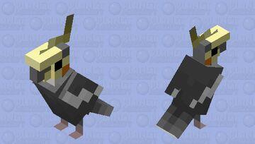 Cockatiel (Wild Patterned Male) Minecraft Mob Skin