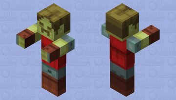 Zombie Hal Minecraft Mob Skin