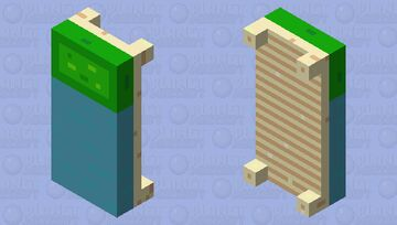 Bed for Palett contest Minecraft Mob Skin
