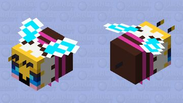 Sweeter (Official art version) - Happy (additional version 1) Minecraft Mob Skin