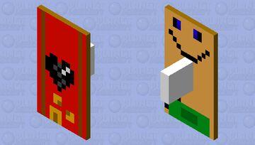 quack money shield Minecraft Mob Skin