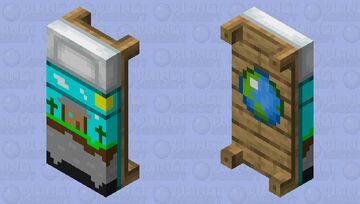 PMC Bed Minecraft Mob Skin