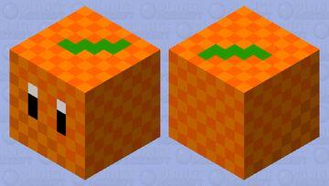 Orange Magma Cube Minecraft Mob Skin