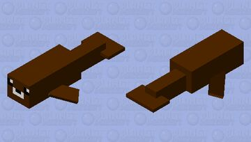 Brown Seal (for bedrock) Minecraft Mob Skin