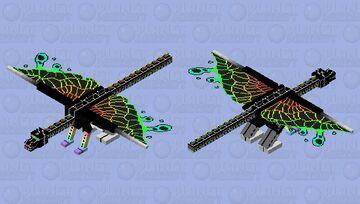 Ender Dragon Rain Fade Minecraft Mob Skin
