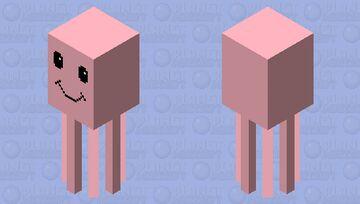 Happy squid Minecraft Mob Skin