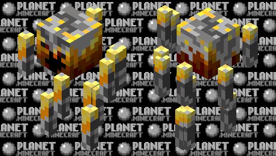 Blaze Rework Minecraft Skin