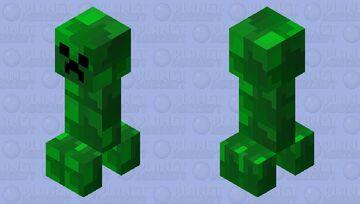Creeper Reskinned Minecraft Mob Skin