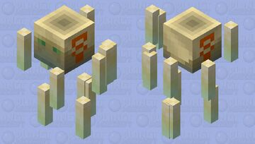 Oasis Spirit Minecraft Mob Skin