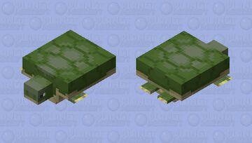Swamp turtle Minecraft Mob Skin