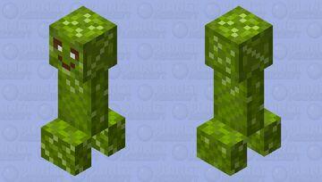 Soft Creeper Attempt Minecraft Mob Skin