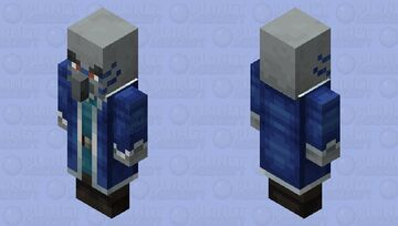 Iceologer(Re Texturing)(Version 1) Minecraft Mob Skin