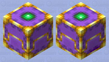 gilded/royal shulker Minecraft Mob Skin