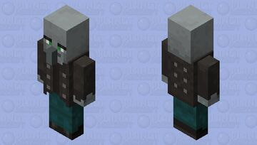 Neutralized Vindicator Minecraft Mob Skin