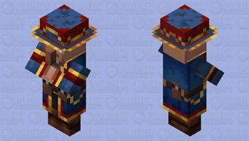 My Wandering Trader Design(With Hat) Minecraft Mob Skin
