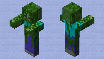 Moss Zombie Minecraft Mob Skin