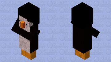 cute penguin ugly pants derpy cute but kinda ugly (BIG FOREHEAD WARNING) Minecraft Mob Skin
