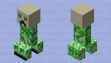 Skull creeper Minecraft Mob Skin