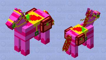 Strawberry Horse Minecraft Mob Skin