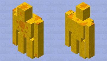 Solar Golem Minecraft Mob Skin