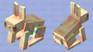 and I fell in the roses   Rabbits and Roses - Creatures of Spring Series Minecraft Mob Skin
