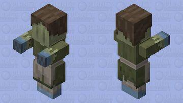 ln2 female viewer / great war era female citizen zombie Minecraft Mob Skin