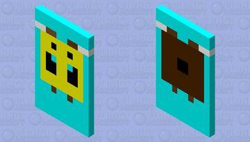 Bee Cape Minecraft Mob Skin