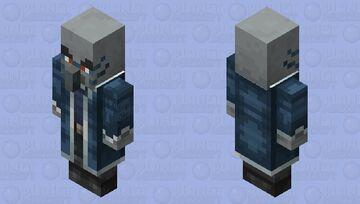 Iceologer(Re Texturing)(Version 2) Minecraft Mob Skin