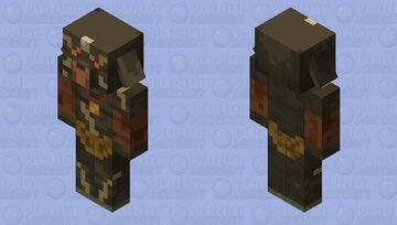 Brown Bokoblin (Breath Of The Wild) Minecraft Mob Skin