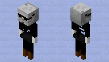 psycharian skeleton Minecraft Mob Skin