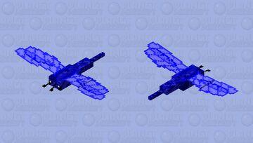 Blue dragonfly Minecraft Mob Skin